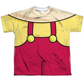 Family Guy Stewie Costume Short Sleeve Youth Poly Crew T-Shirt