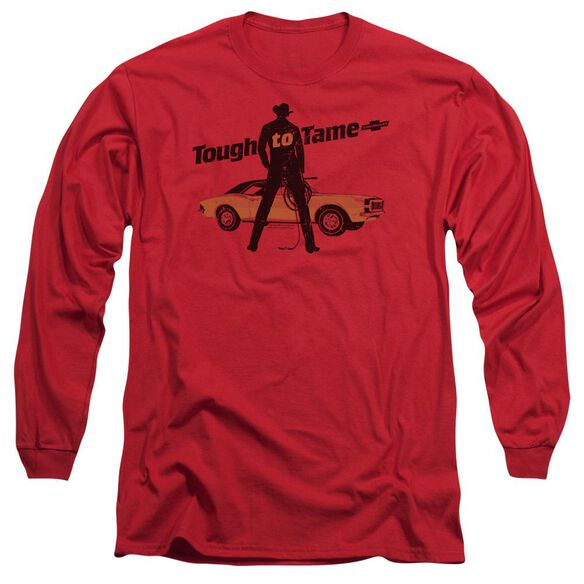 Chevrolet Tough To Tame Long Sleeve Adult T-Shirt