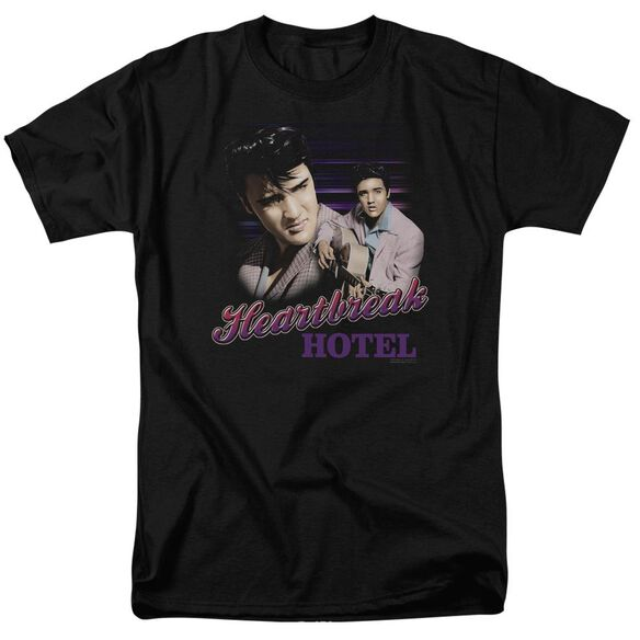 Elvis Heartbreak Hotel Short Sleeve Adult T-Shirt