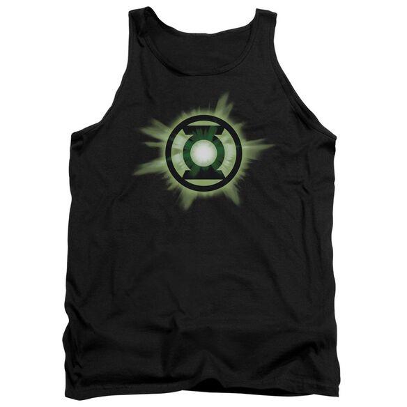 Green Lantern Green Glow Adult Tank