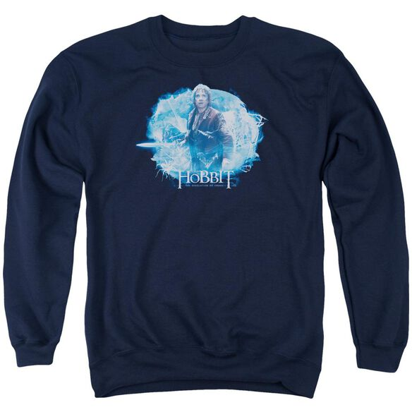 Hobbit Tangled Web Adult Crewneck Sweatshirt