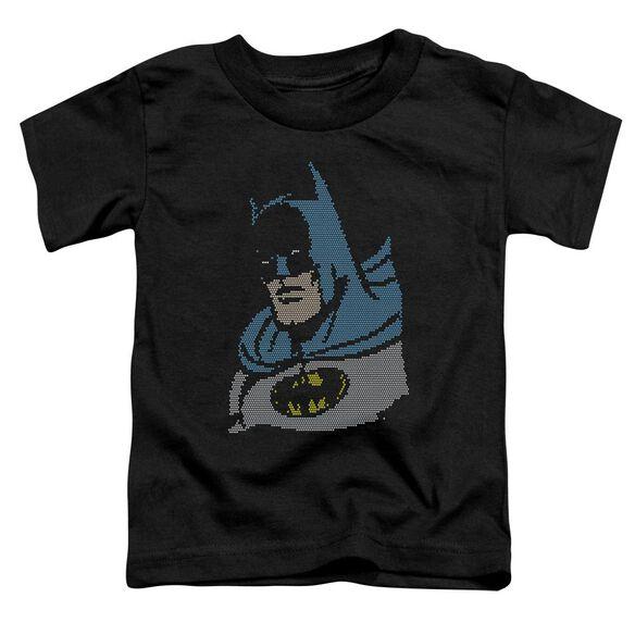 Dc Lite Brite Batman Short Sleeve Toddler Tee Black Md T-Shirt
