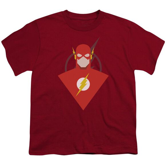 Jla Simple Flash Short Sleeve Youth T-Shirt