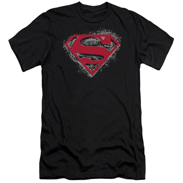 Superman Hardcore Noir Shield Premuim Canvas Adult Slim Fit