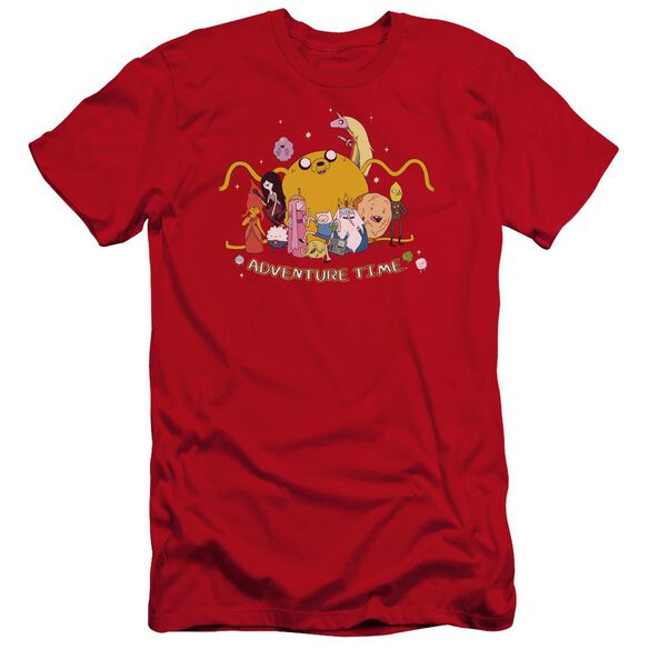 Adventure Time Outstretched Hbo Short Sleeve Adult T-Shirt