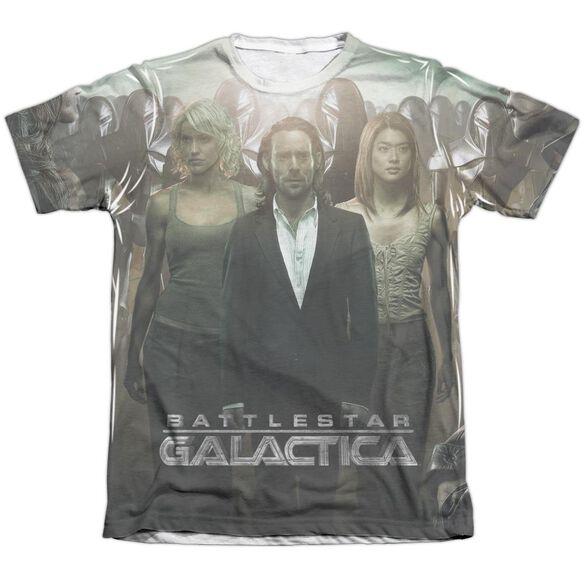 Bsg Destiny Walk Adult Poly Cotton Short Sleeve Tee T-Shirt