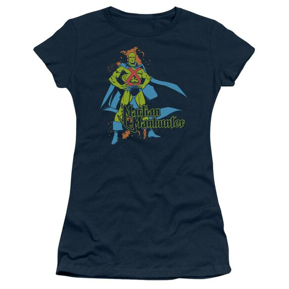 Dc Martian Manhunter Short Sleeve Junior Sheer T-Shirt