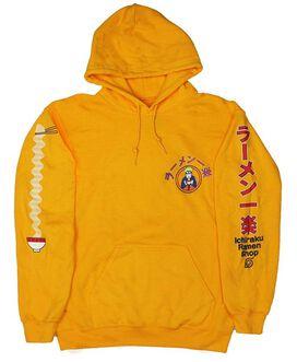 Naruto Ichiraku Ramen Shop Gold Hoodie