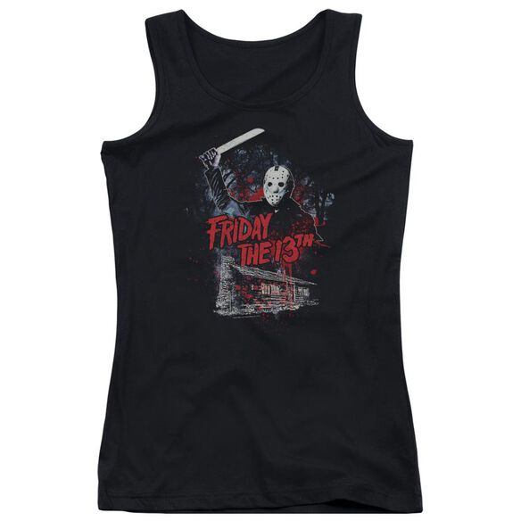 Friday The 13 Th Cabin Juniors Tank Top