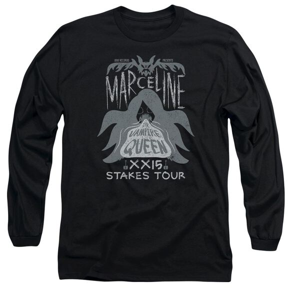 Adventure Time Marceline Concert Long Sleeve Adult T-Shirt