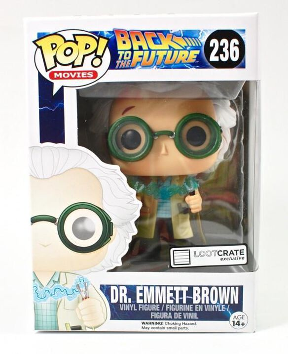 Dr. Emmet Brown - Loot Crate Exclusive