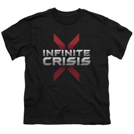 Infinite Crisis Logo Short Sleeve Youth T-Shirt