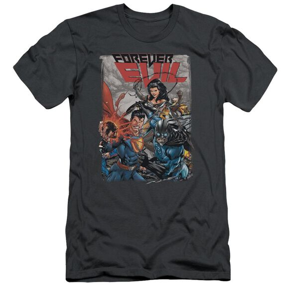 Jla Crime Syndicate Short Sleeve Adult T-Shirt