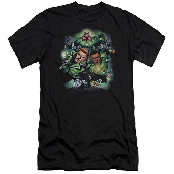 Green Lantern Corps #1 Premuim Canvas Adult Slim Fit