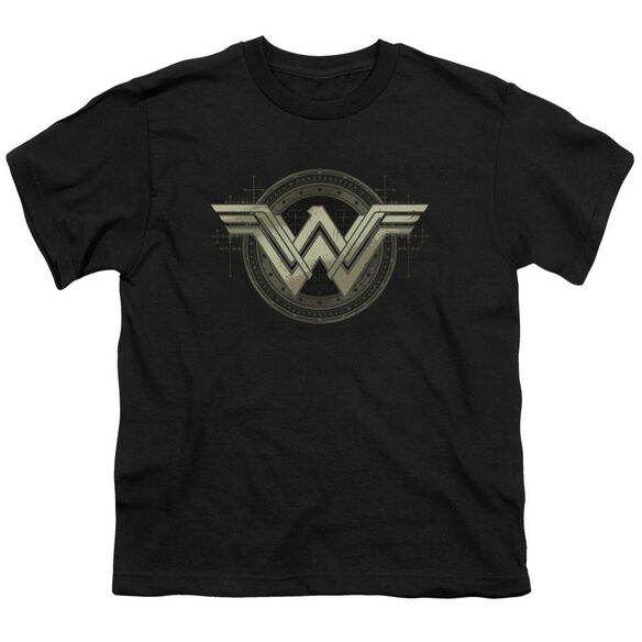 Batman V Superman Ancient Emblems Short Sleeve Youth T-Shirt