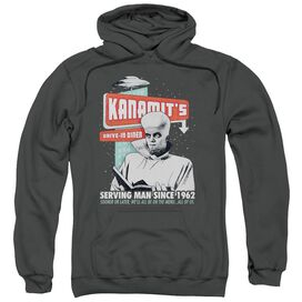 Twilight Zone Kanamits Diner Adult Pull Over Hoodie