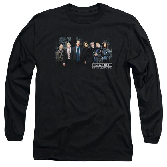 Law And Order Svu Cast Long Sleeve Adult T-Shirt