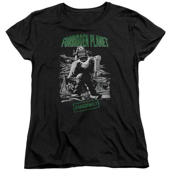 Forbidden Planet Robot Poster Short Sleeve Womens Tee T-Shirt