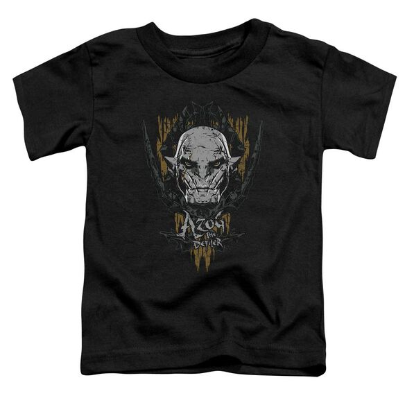 Hobbit Azog Short Sleeve Toddler Tee Black T-Shirt