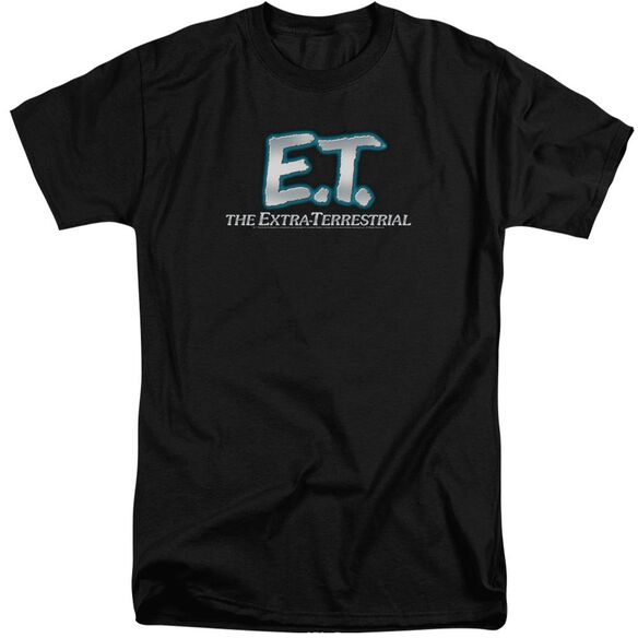 Et Logo Short Sleeve Adult Tall T-Shirt