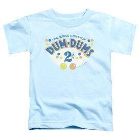 DUM DUMS 2 CENTS - S/S TODDLER TEE - LIGHT BLUE - T-Shirt