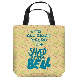 Saved By The Bell All Right Tote Bag