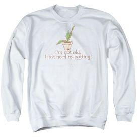 Garden Old Gardener Adult Crewneck Sweatshirt