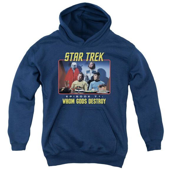 Star Trek Episode 71 Youth Pull Over Hoodie