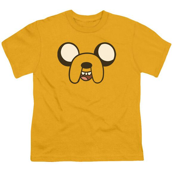 Adventure Time Jake Head Short Sleeve Youth T-Shirt
