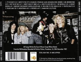 Guns N' Roses - At the Perkins Palace 1987
