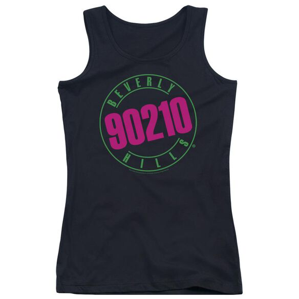 90210 Neon Juniors Tank Top