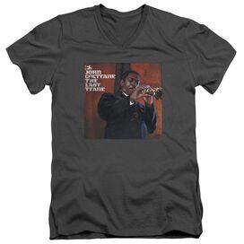 John Coltrane Last Trane Short Sleeve Adult V Neck T-Shirt