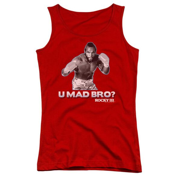 Rocky Iii U Mad Bro Juniors Tank Top