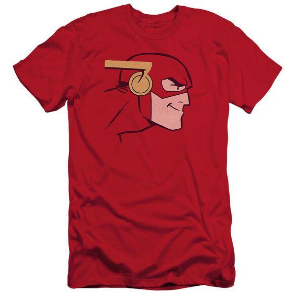 Jla Cooke Head Short Sleeve Adult T-Shirt