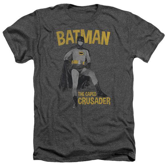 Batman Classic Tv Caped Crusader Adult Heather