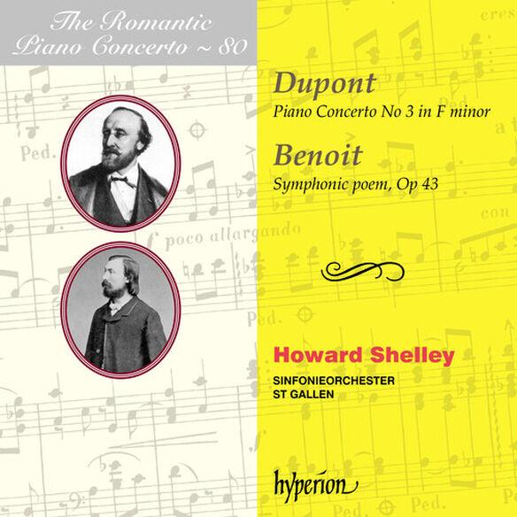 Howard Shelley - The Romantic Piano Concerto Vol.80