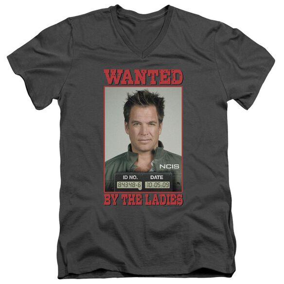 Ncis Wanted Short Sleeve Adult V Neck T-Shirt
