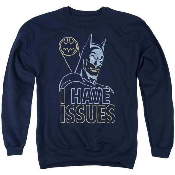 Dc Issues Adult Crewneck Sweatshirt