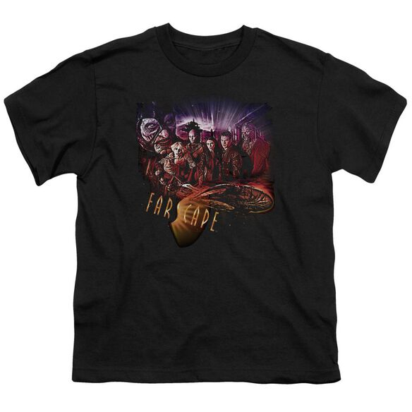 Farscape Graphic Collage Short Sleeve Youth T-Shirt