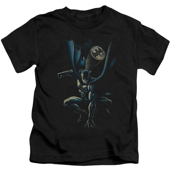 Batman Calling All Bats Short Sleeve Juvenile Black Md T-Shirt