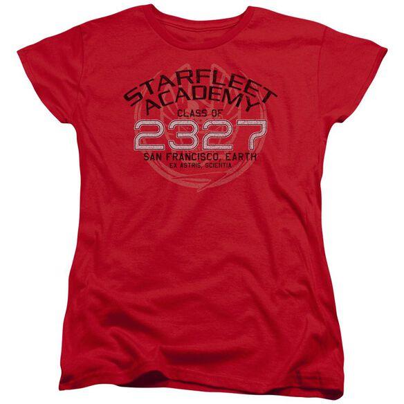 Star Trek Picard Graduation Short Sleeve Womens Tee T-Shirt