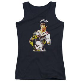 Bruce Lee Body Of Action Juniors Tank Top