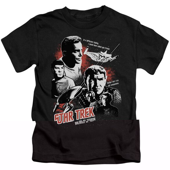 Star Trek Balance Of Terror Short Sleeve Juvenile Black T-Shirt