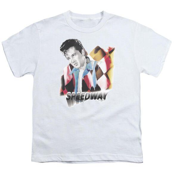 Elvis Speedway Short Sleeve Youth T-Shirt