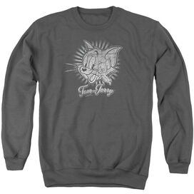 Tom And Jerry Classic Pals Adult Crewneck Sweatshirt