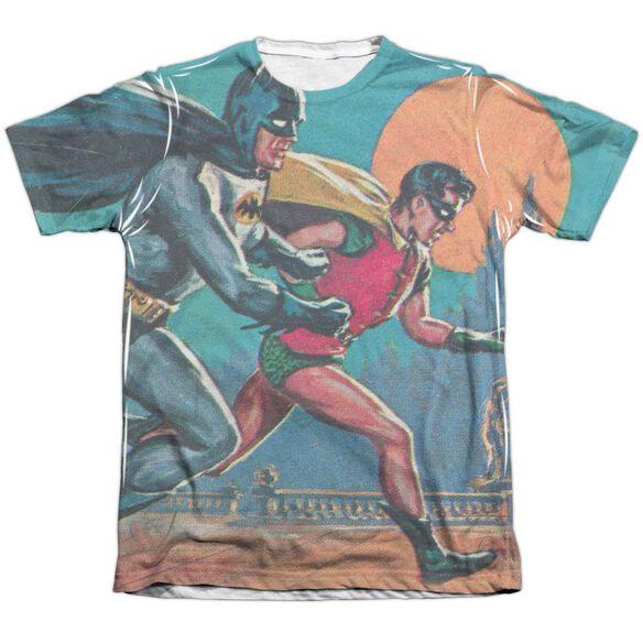 Batman Classic Tv Lets Go Adult Poly Cotton Short Sleeve Tee T-Shirt