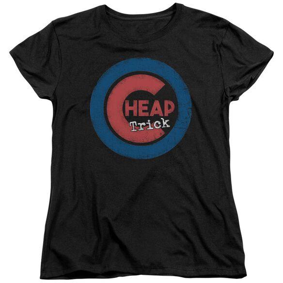 Cheap Trick Cheap Cub Short Sleeve Womens Tee T-Shirt