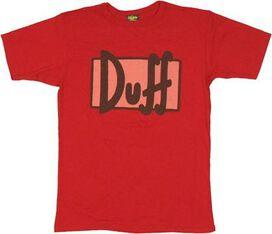 Simpsons Duff T-Shirt Sheer