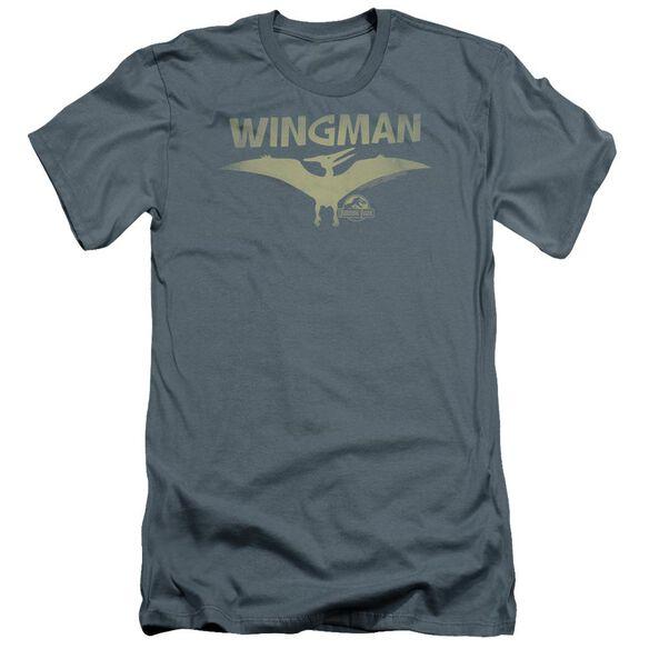 Jurassic Park Wingman Premuim Canvas Adult Slim Fit