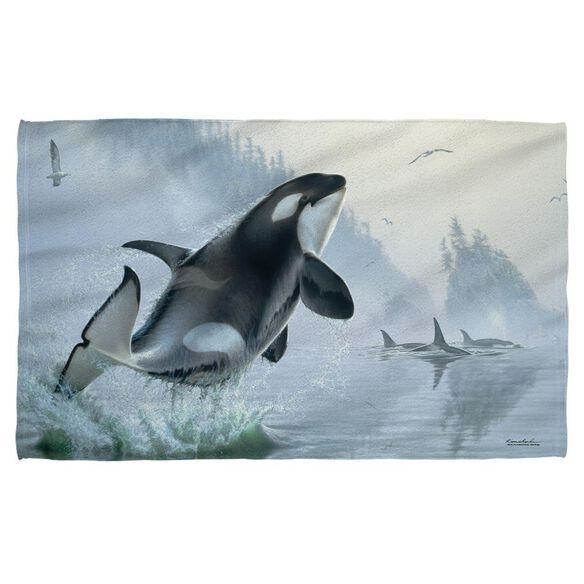 Wild Wings Teeming Waters 2 Golf Towel W Grommet